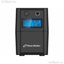 Power Walker UPS Line-Interactive 650VA 2x 230V EU