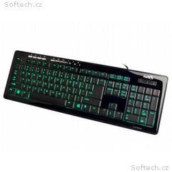 Natec MEDUSA 2 BACKLIGHT klávesnice, nízkoprofilov