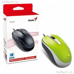 Genius optická drátová myš DX-120, zelená