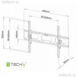 """Techly nástěnný držák pro TV LCD, LED, PDP 40-65"""""""