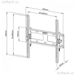 """Techly nástěnný držák pro TV LCD, LED, PDP 23-55"""""""