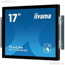 "Iiyama LCD TF1734MC-B1X 17""LED dotykový, 5ms, VGA,"