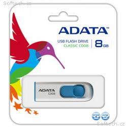 ADATA Classic Series C008 8GB USB 2.0 flashdisk, v