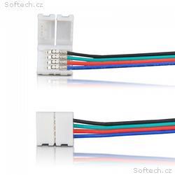 Whitenergy Konektor pro připojení LED pásky (5 ks)