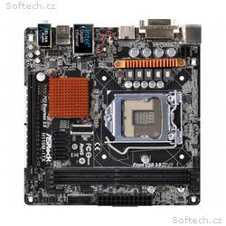 ASRock H110M-ITX, H110, DualDDR4-2133, SATA3, HDMI