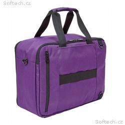 "Falcon 3 Way Laptop Travel Bag 15,6"" purple"