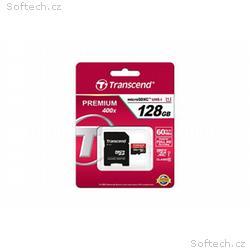 Transcend paměťová karta Micro SDXC 128GB Class 10