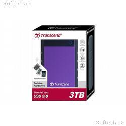 "Transcend StoreJet 25H3 3TB ext. HDD 2.5"" USB 3.0"