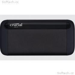 Crucial externí SSD 2TB X8 USB 3.2 (ctení až 1050