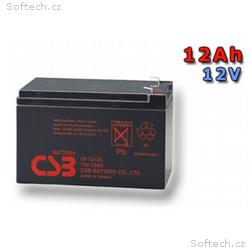 CSB Náhradni baterie 12V - 12Ah GP12120 F2 - kompa