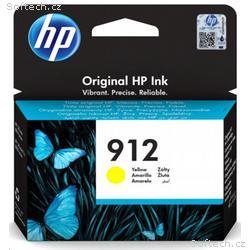 HP Ink Cartridge č.912 yellow