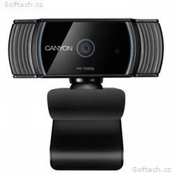 CANYON webová kamera C5, FHD 1920x1080@30fps, 2MPx