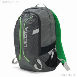 Dicota Backpack Active 14-15.6 grey, lime