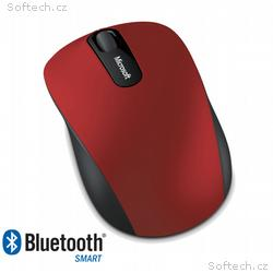 Microsoft Bluetooth 4.0 Mobile Mouse 3600, tmavě č