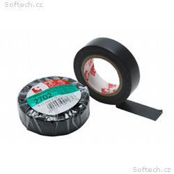 PremiumCord Izolační páska PVC 15, 10 černá