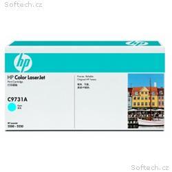 HP Color LaserJet azurový toner, C9731A