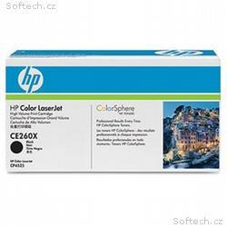 HP Toner Cart Black pro HP CLJ CP4025, 4525, High