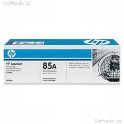HP 85A Black LJ Toner Cart, 1 600 str, CE285A