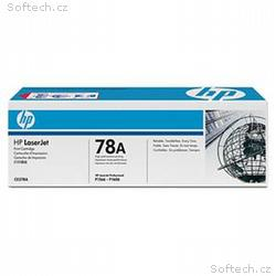 HP 78A Black LJ Toner Cart, 2 100 str, CE278A