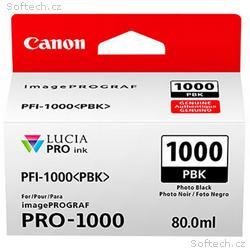 Canon PFI-1000 PBK, photo černý