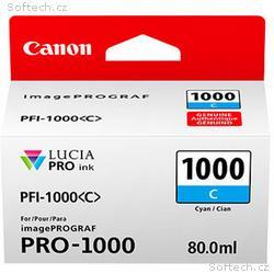 Canon PFI-1000 C, azurový