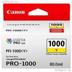 Canon PFI-1000 Y, žlutý