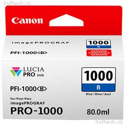 Canon PFI-1000 B, modrý