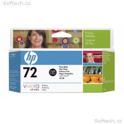 HP no 72 - foto černá ink. kazeta, C9370A