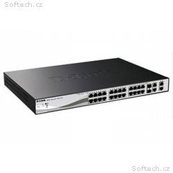 D-Link 24-port Fast Ethernet PoE, PoE+ Smart Switc