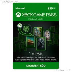 ESD XBOX - Game Pass dárková karta 259 Kč (předpla