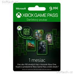ESD XBOX - Game Pass dárková karta 9,99 EUR (předp