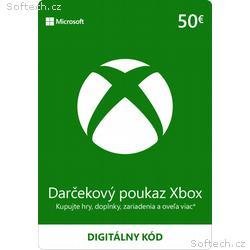 ESD XBOX - Dárková karta Xbox 50 EUR
