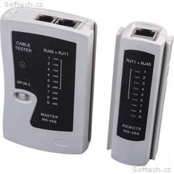Masterlan tester pro UTP kabely BASIC včetně remot