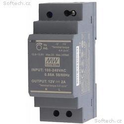 MEAN WELL HDR-30-12 zdroj na DIN lištu