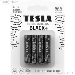 TESLA BLACK alkalická baterie AAA (LR03, tužková b