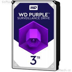 WD PURPLE WD30PURZ 3TB SATA, 600 64MB cache, Low N