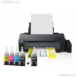 EPSON tiskárna ink L1300, CIS, A3+, 30ppm, 4ink, U