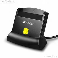 AXAGON CRE-SM2, USB externí čtečka 4-slot Smart ca