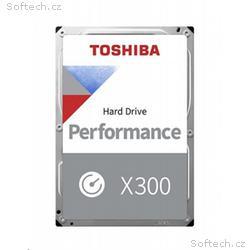 TOSHIBA HDD X300 10TB, SATA III, 7200 rpm, 256MB c