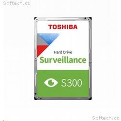 TOSHIBA HDD S300 Surveillance (CMR) 1TB, SATA III,