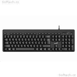 Genius KB-116 Classic USB klávesnice, černá, CZ+SK