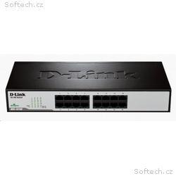 D-Link DES-1016D 16-port 10, 100 Desktop, Rackmoun