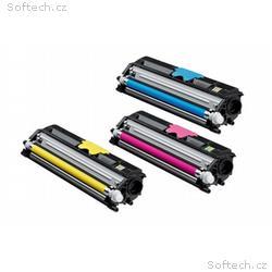 Minolta Sada barevných tonerů (C, M, Y) do MC1600,