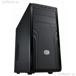 Cooler Master case Force 500, ATX, Mid Tower, čern