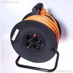 PREMIUMCORD Prodlužovací přívod 230V buben 25m, 4