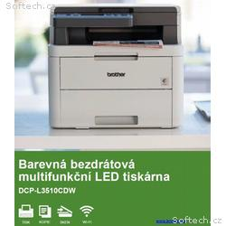 BROTHER multifunkce color LED DCP-L3510CDW - A4, 1