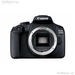 """Canon EOS 2000D tělo, 24,1 MP, 3"""" LCD, Full HD"""