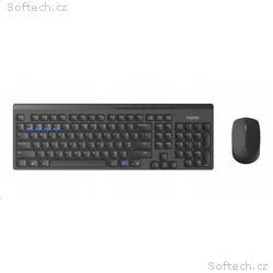 RAPOO set klávesnive a myš 8100M Wireless Multi-Mo