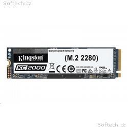 Kingston 500GB SSD disk PCIe - M.2 version NVMe