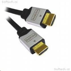 PREMIUMCORD Kabel HDMI A - HDMI A M, M 10m zlacené